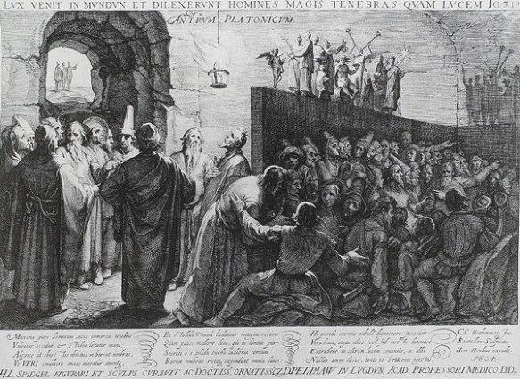 Plato's Allegory of the Cave, Jan Saenredam, 1604